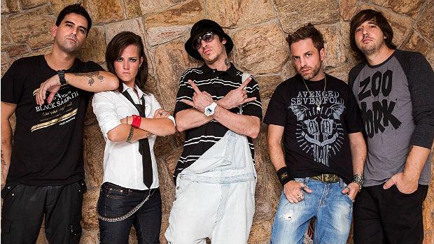 Foto de divulgação da banda A Banca