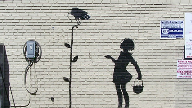 Mural Flower Girl