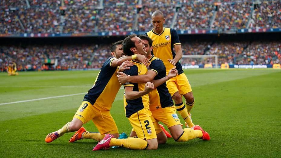 Partida entre Barcelona e Atlético de Madrid neste sábado (17) no Camp Nou, pela última rodada do Campeonato Espanhol