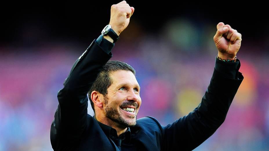 Argentino de 44 anos foi campeão espanhol como jogador e agora como técnico do Atlético
