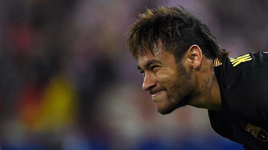 Neymar não evitou a derrota do Barça