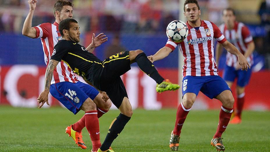 Atlético de Madri venceu o Barcelona por 1 a 0