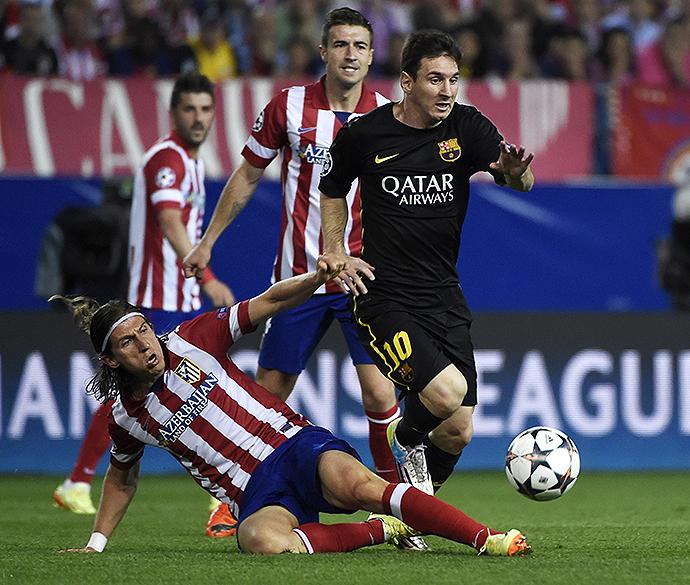 Messi teve atuação apagada na partida desta quarta