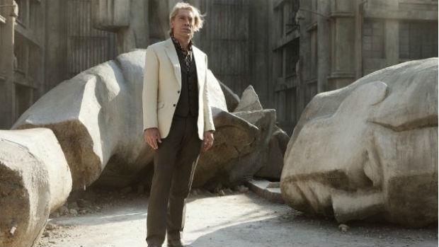 O ator Javier Bardem como Raoul Silva em Skyfall