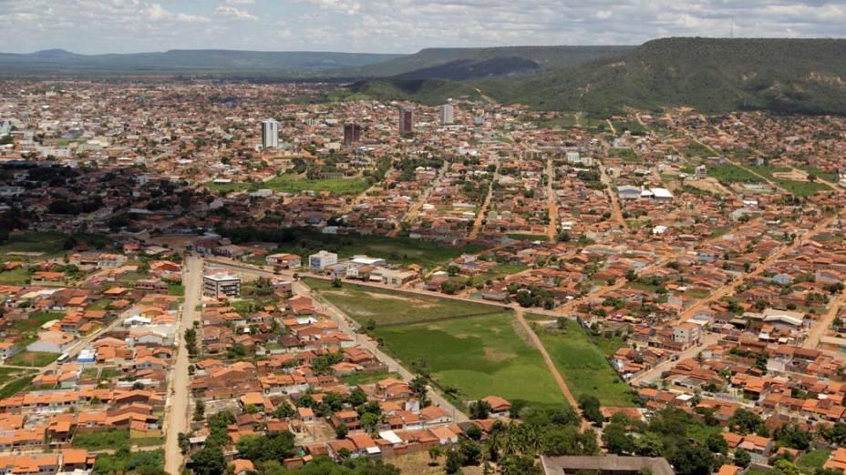 Vista aérea de Barreiras, Bahia