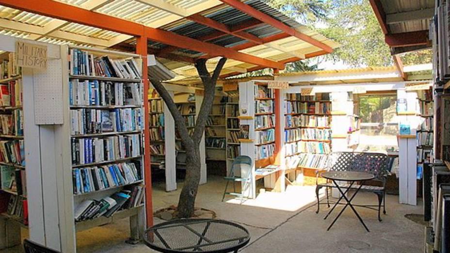 Livraria Bart's Books na Califórnia, nos Estados Unidos