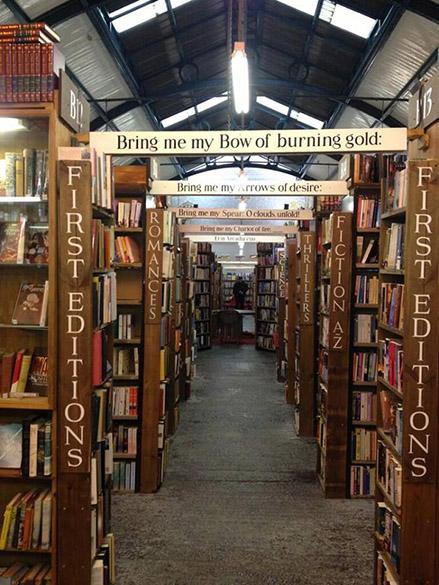 Livraria Barter Books em Alnwick, Reino Unido