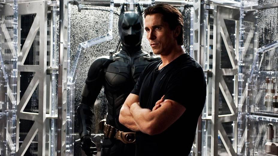 """Christian Bale interpreta Bruce Wayne em """"Batman: O Cavaleiro das Trevas Ressurge"""""""