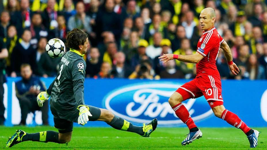 Final da Liga dos Campeões jogo entre Borussia Dortmund e Bayern de Munique, no Estádio de Wembley, em Londres