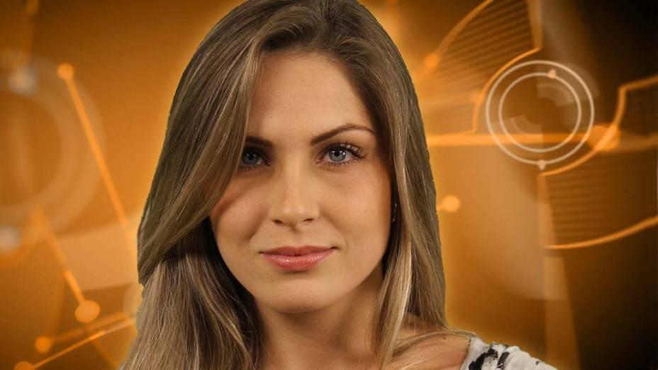 A mineira Renata tem 21 e é estudante de psicologia