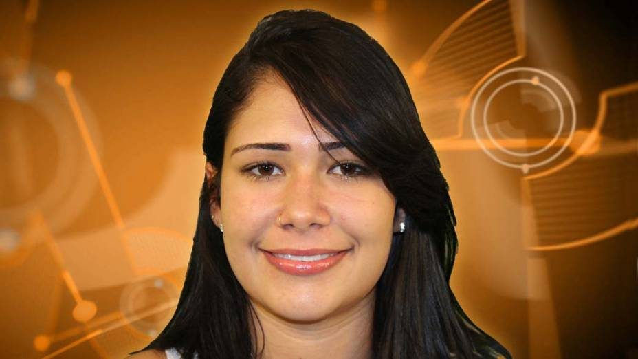 A baiana Jakeline, de 22 anos, é estudante de zootecnia