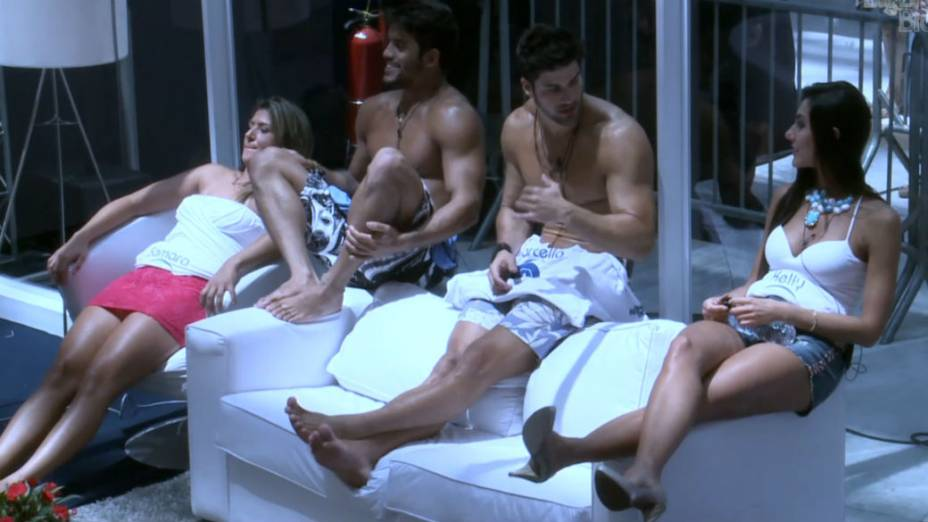 A casa de vidro do BBB 13