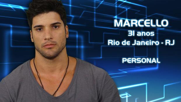 Marcello, de 31 anos, é personal trainer no Rio de Janeiro