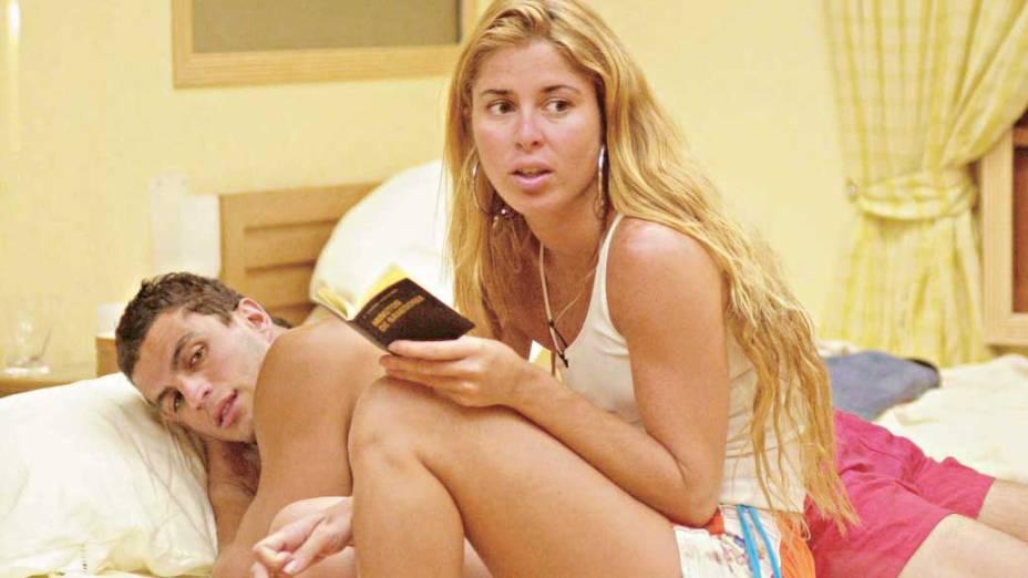 """Kleber Bambam e Xaiane Dantas, o casal participou da primeira edição do """"Big Brother Brasil"""""""