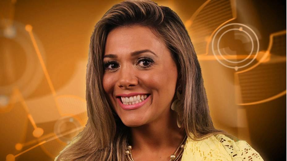 Fabiana entra no lugar de Fernanda Girão, que desistiu de participar do BBB 12 no sábado