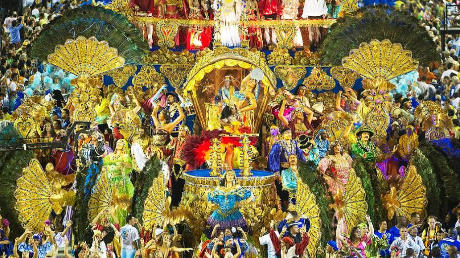 Desfile da Beija-Flor na Marquês de Sapucaí