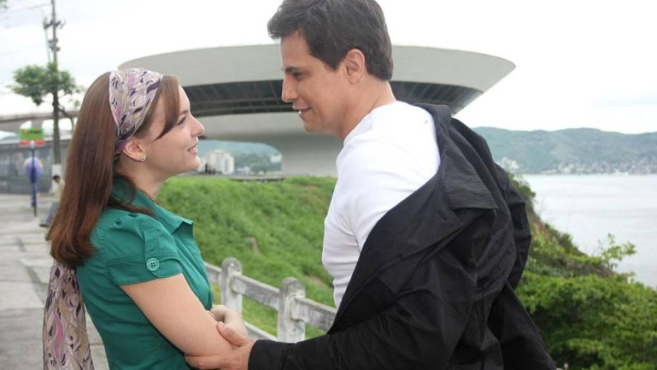 Beleza Pura: Edson Celulari e Regiane Alves na novela de 2008