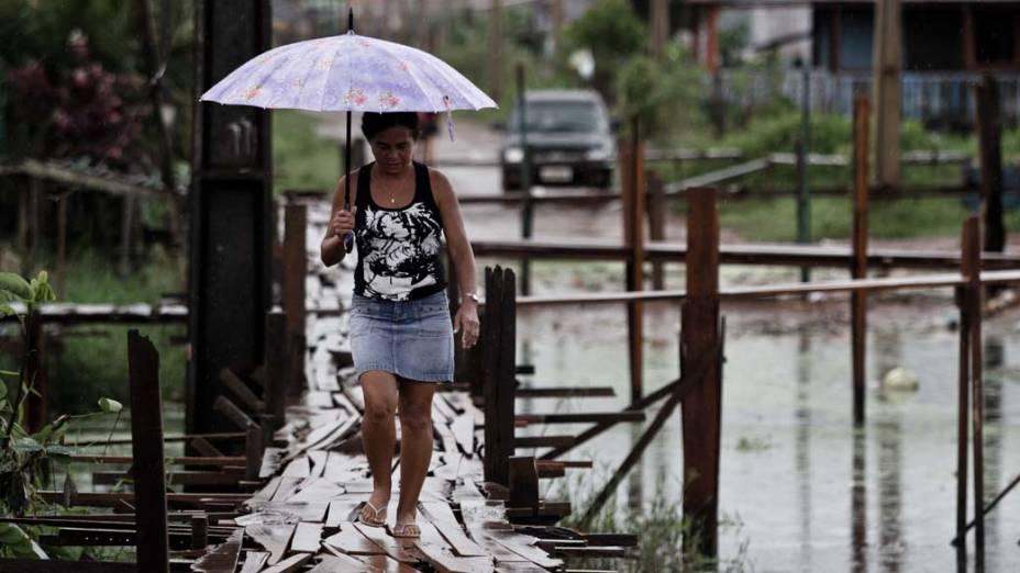 A infra-estrutura de Altamira, a cidade mais desenvolvida do Xingu, com 105.000 moradores, é precária. População vai dobrar