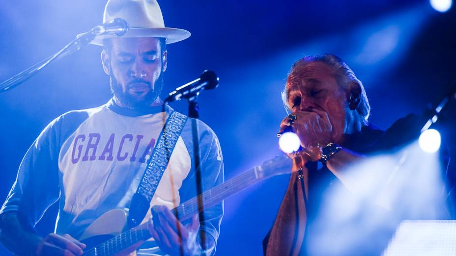 Show de Ben Harper e Charlie Musselwhite no Rock in Rio