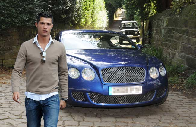 Bentley Continental GT Speed de Cristiano Ronaldo