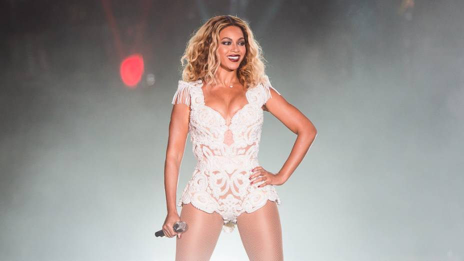 Beyoncé no primeiro dia do Rock in Rio 2013