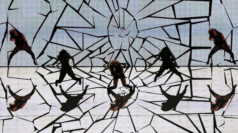 Beyoncé e os espelhos no Super Bowl
