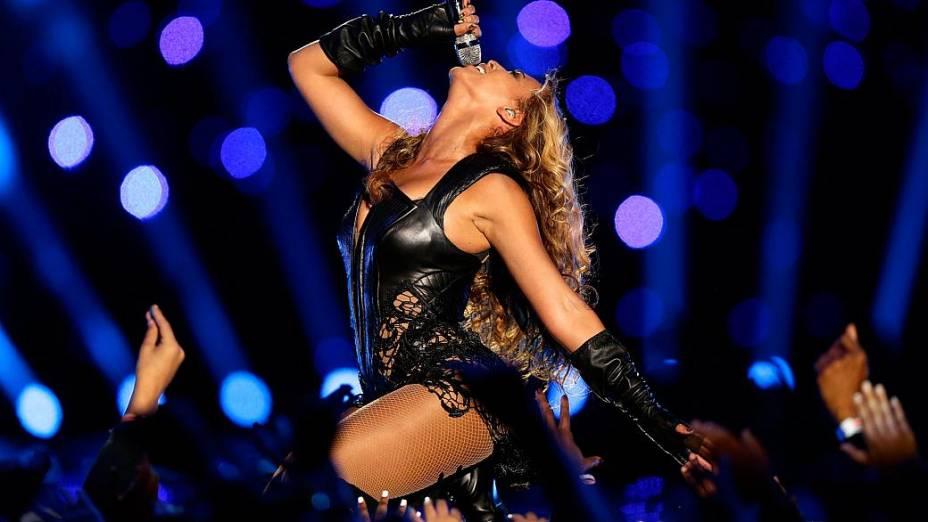 Beyoncé incendeia o Super Bowl