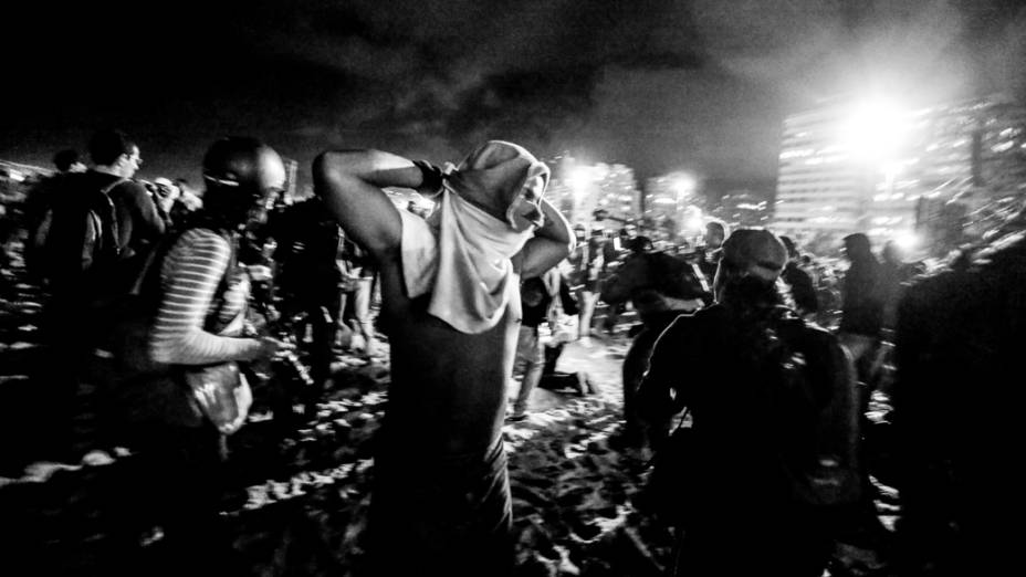 Movimento Black Bloc no Rio de Janeiro