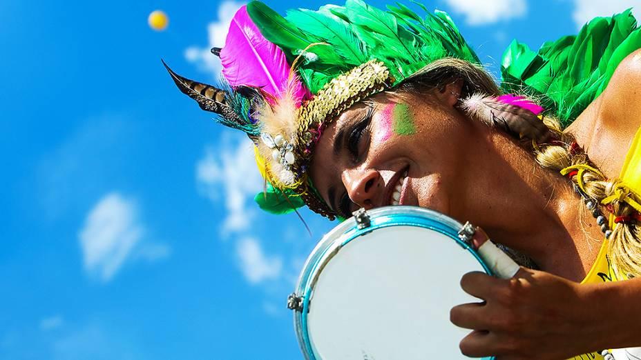 A banda Bangalafumenga é conhecida por promover fusões entre funk e samba e outros ritmos brasileiros