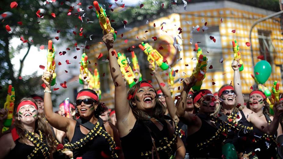 Bloco de carnaval Suvaco de Cristo, na zona Sul do Rio de Janeiro