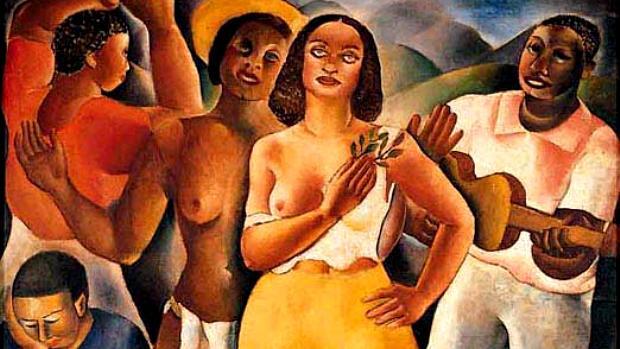 Samba (1925), de Di Cacalcanti, foi uma das obras perdidas no incêndio