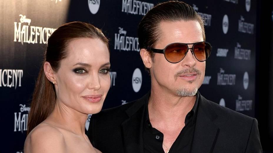 Angelina e Brad Pitt