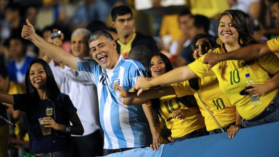 Brasil x Argentina pelo Superclássico das Américas 2012, em Goiânia