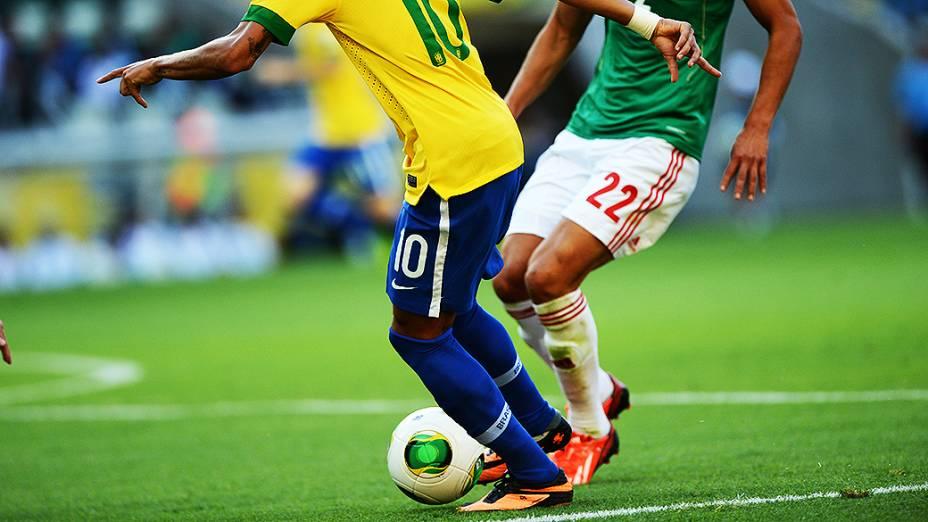 As chuteiras dos jogadores na Copa das Confederações