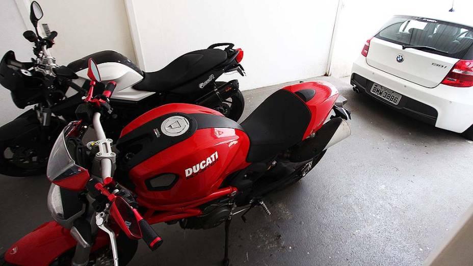 Moto da marca Ducati está entre os bens apreendidos pela polícia em ação que prendeu quatro agentes ligados à subsecretaria da Receita da gestão do ex-prefeito Gilberto Kassab (PSD)