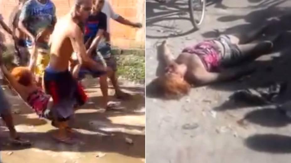 Mulher morre após ser agredida por populares que a acusaram de ser uma suposta sequestradora de crianças no Guarujá (SP)