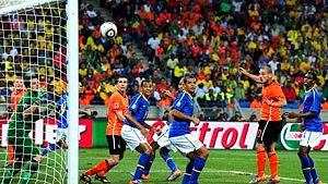 A derrota do Brasil para a Holanda