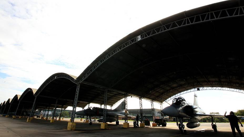 O ninho dos Mirage na Base Aérea de Anápolis