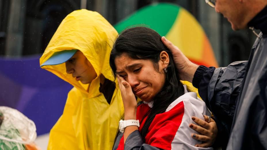 Religiosos de diferentes países ocupam as ruas do Rio, durante a visita do Papa na Jornada Mundial da Juventude