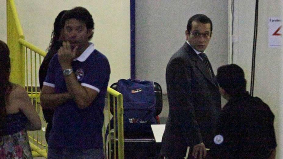 Gil Rugai chega para quinto dia de Julgamento no Fórum da Barra Funda