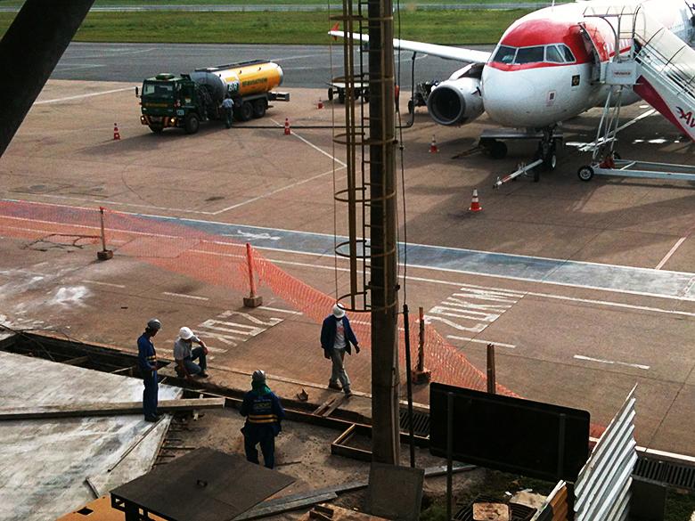 Novo terminal do Aeroporto Internacional Marechal Rondon (MT) funcionará parcialmente na Copa