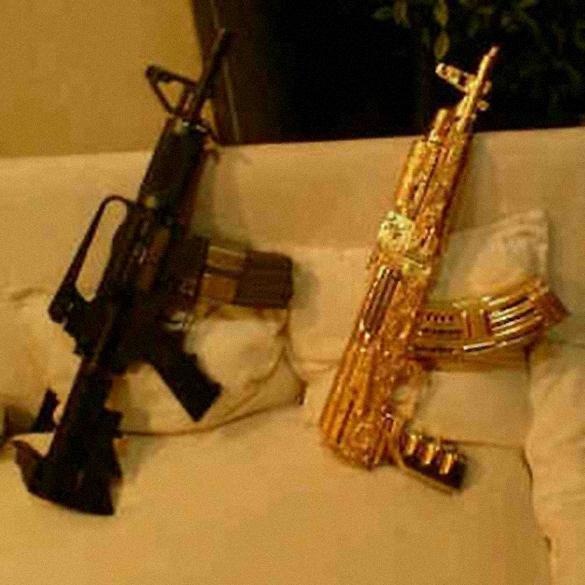"Objeto de desejo, o fuzil ""de ouro"" do tráfico era negociado como ""presente"", segundo investigadores"