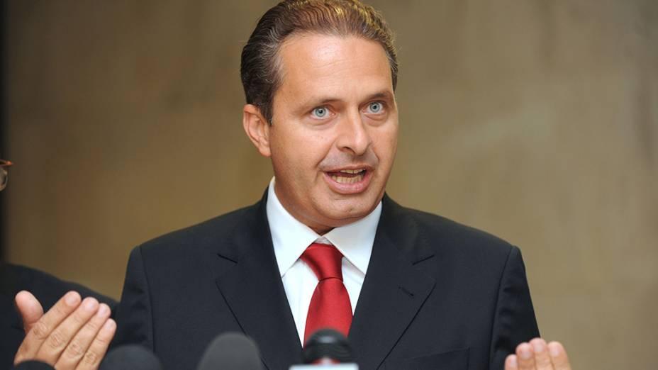 Ex-governador de Pernambuco, Eduardo Campos