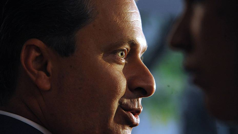 Eduardo Campos, presidente nacional do PSB