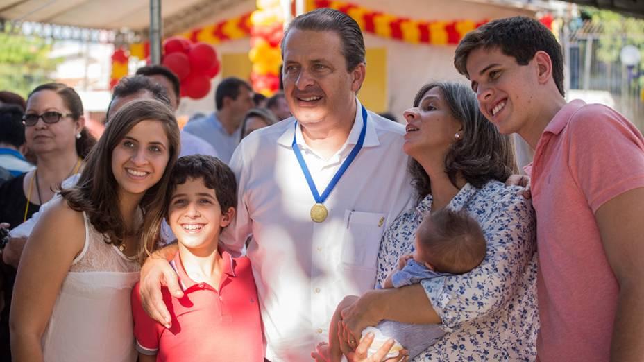 Eduardo Campos visita com a família, as cidades de Juazeiro do Norte e Barbalha, na região metropolitana do Cariri, sertão do Ceará