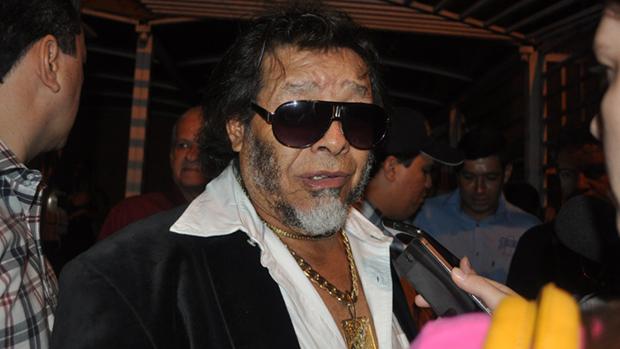 O cantor José Rico candidato pelo PMDB-GO