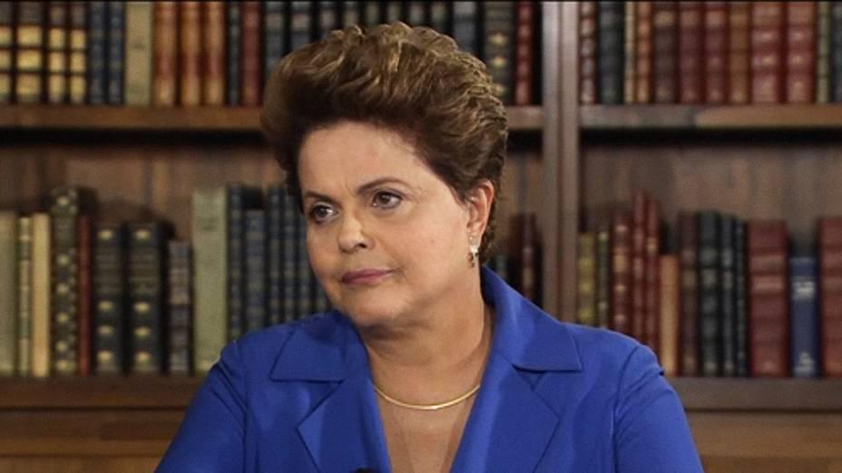Presidente Dilma Rousseff é entrevistada no Jornal Nacional - 18/08/2014