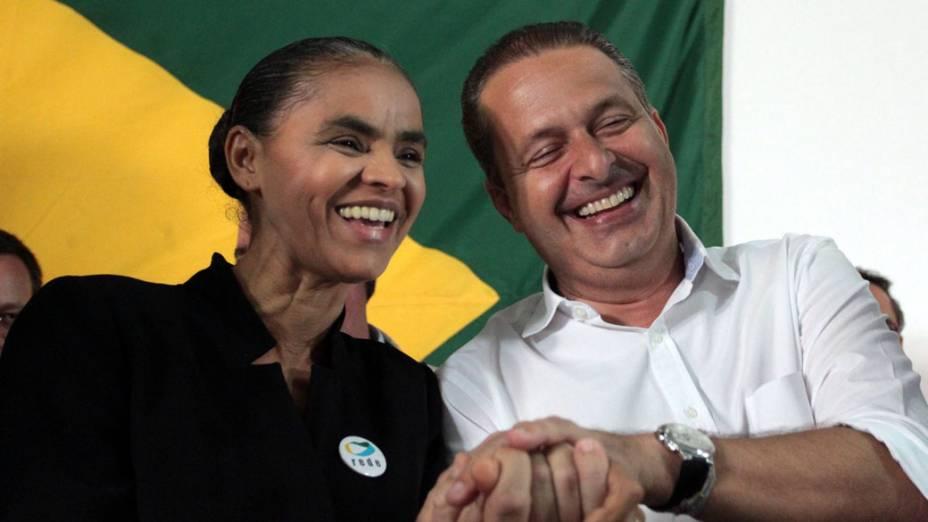Antes de anúncio, Marina Silva se reuniu com Eduardo Campos pela manhã em Brasília