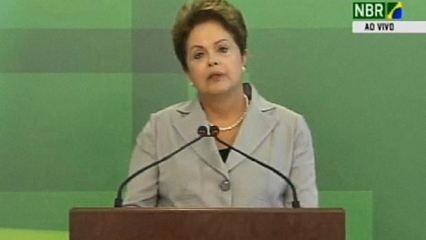 Presidente Dilma Rousseff faz pronunciamento sobre a morte de Eduardo Campos - 13/08/2014