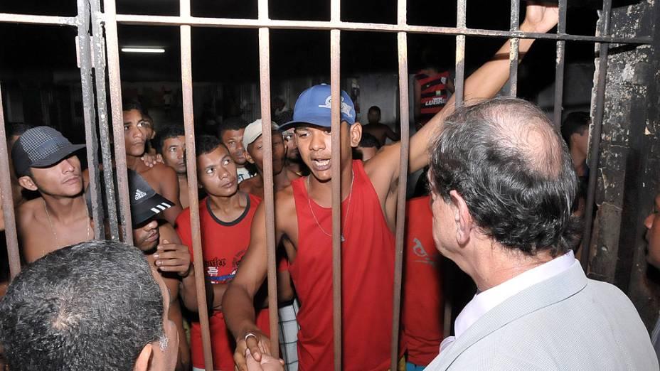 Vistoria realizada no Complexo Penitenciário